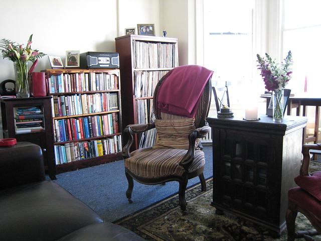 Arrange Bookshelves Living Room