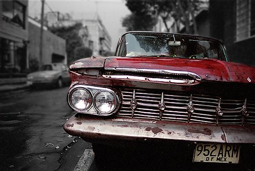 old american car in mexico city an old dilapidated americ flickr. Black Bedroom Furniture Sets. Home Design Ideas