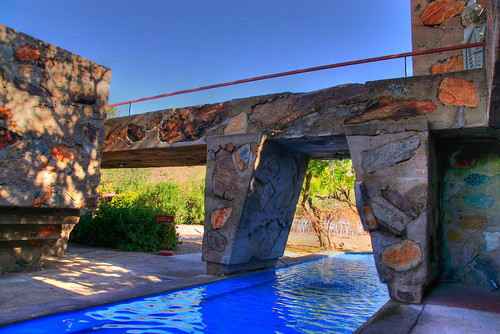 Stone Footbridge, Scottsdale, Arizona | by Thad Roan - Bridgepix
