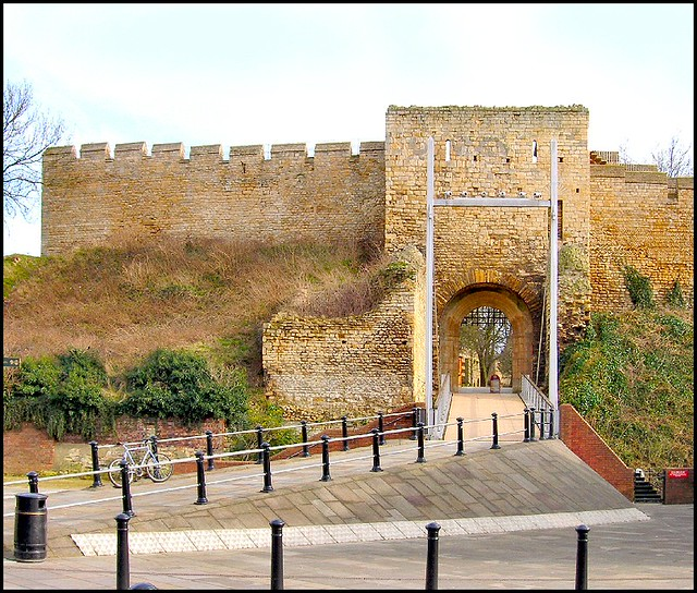 West Gate Lincoln Castle The Only Entrance To Lincoln