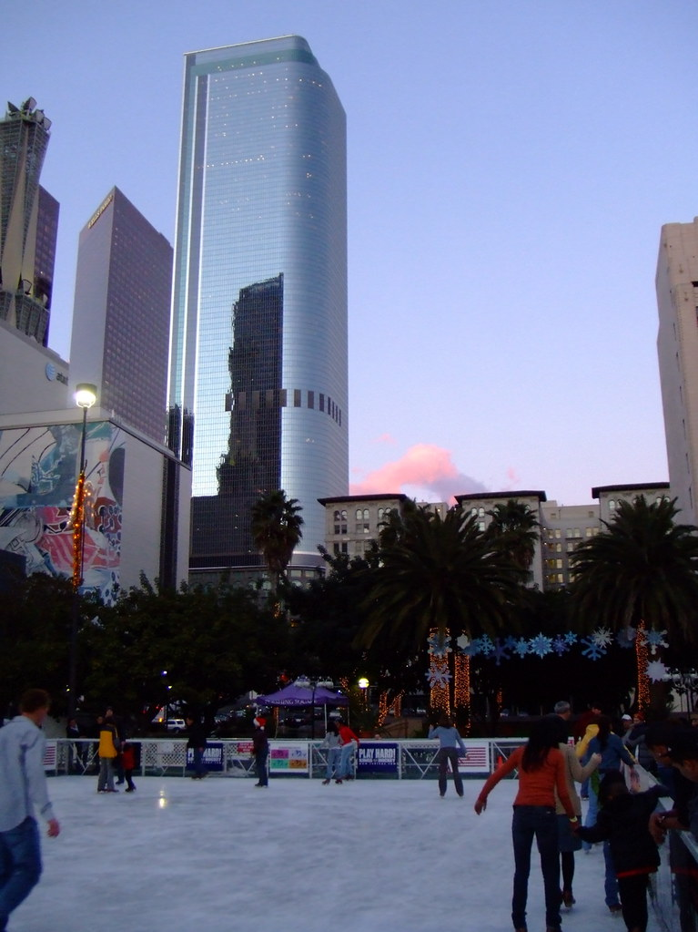 ice skating rink in downtown la at pershing square yearly flickr. Black Bedroom Furniture Sets. Home Design Ideas