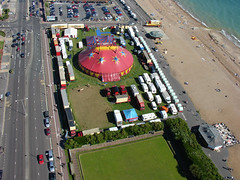 Aerial Photography of  Zippo's Circus, Hove Lawns, Hove, East Sussex, BN3 4GR | by aerialphotographyforyou