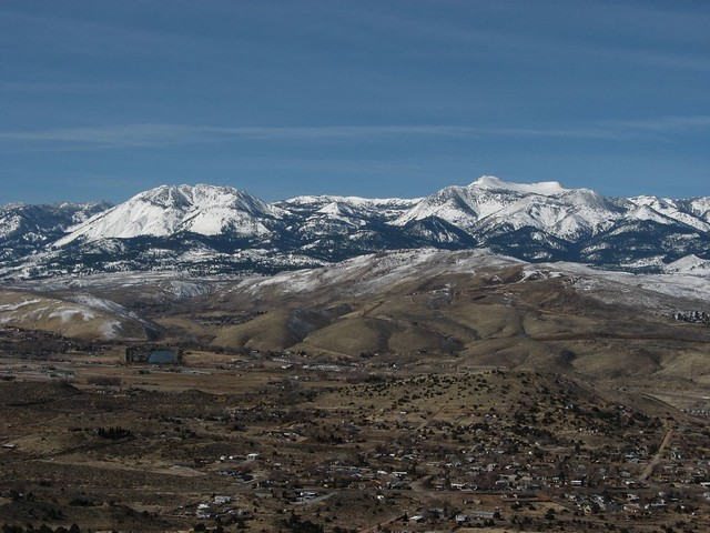 City Of Reno Jobs >> View of Mount Rose and Slide Mountain, Nevada State Route …   Flickr