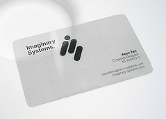 Imaginary Systems. Business Card | by Aen Tan