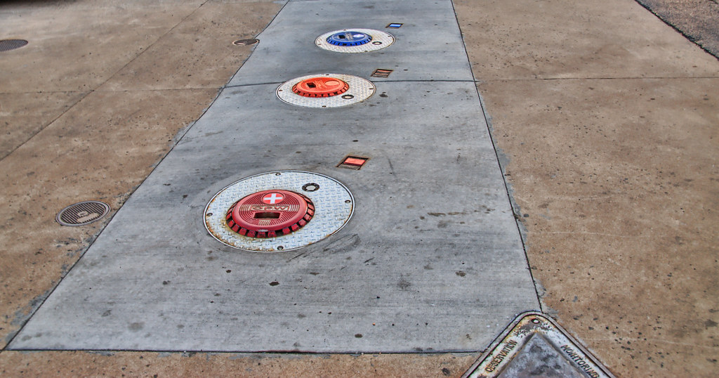 Underground Tank Covers at Gas Station | Covers of ...