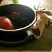 A plum present
