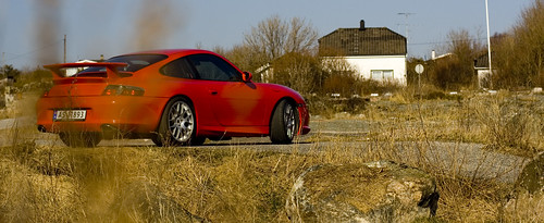 The 2004 Porsche GT3 on Vikerhavn, Hvaler, Norway | by fiskfisk