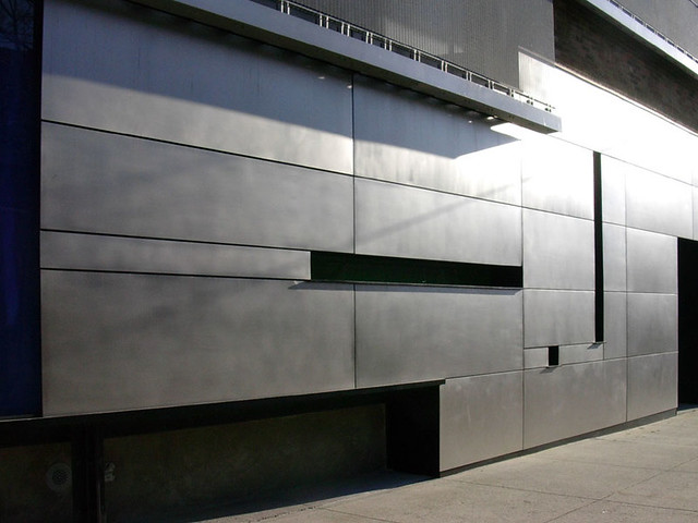 Stainless Steel Metal Cladding : Ironworkers local a training facility in long island