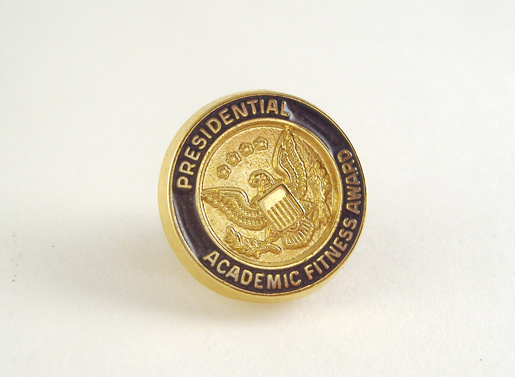 Presidential Academic Fitness Award Pin You Can Get This