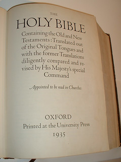 Oxford Lectern Bible | by Christopher Busta-Peck