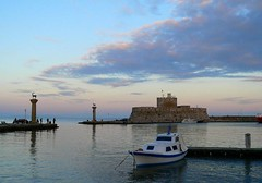 Rhodes Port | by DimitriSotiropoulos Photography