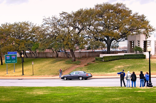 the grassy knoll, Dealey Plaza, Dallas, Texas | by lumierefl