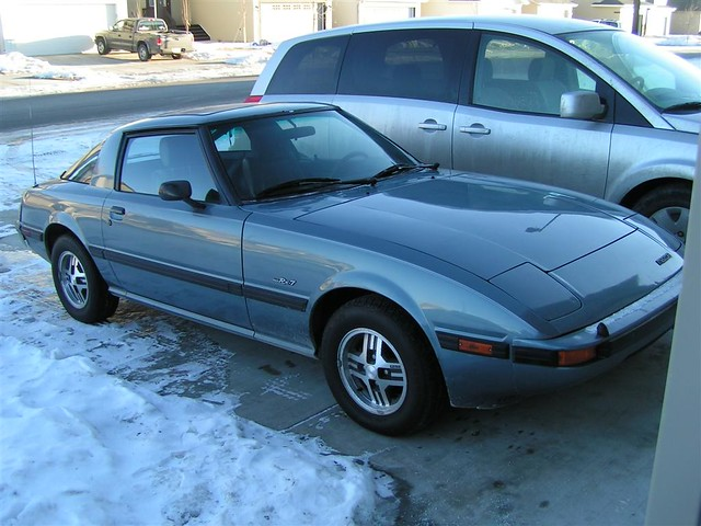 World Car Mazda >> 1985 Mazda Rx-7 GSL | I just picked this car up - its 1985 ...