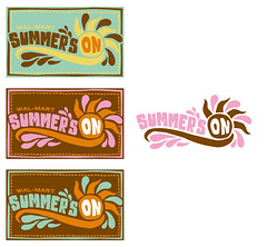 summer's on (wal-mart) logo | by super_furry