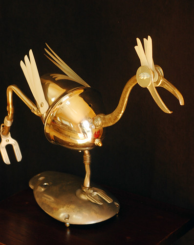 road runner bird sculpture | by Lockwasher