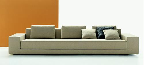 Mdf italia idea sofa featured on - Sofas de merkamueble ...
