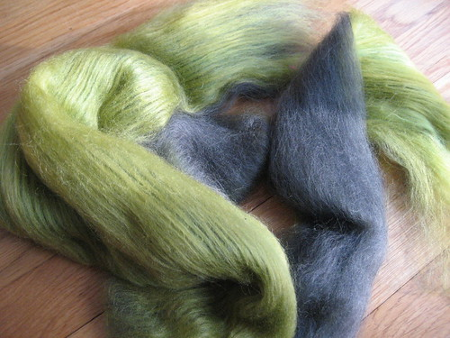 carder 'speriment - merino/silk and tussah silk | by mygomi