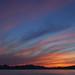 Sunset over Massif Esterel