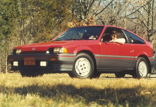 my old 1985 honda crx my car from the late 1980s it had. Black Bedroom Furniture Sets. Home Design Ideas