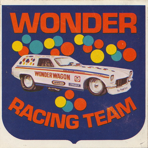Wonder Bread Racing Team Sticker - Wonder Wagon - 1973ish | by JasonLiebig