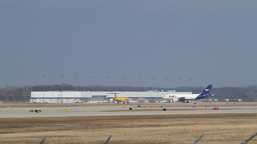 Cargo Ramp Gerald R Ford International Airport Fedex