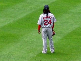 Manny Ramirez | by Rich Anderson