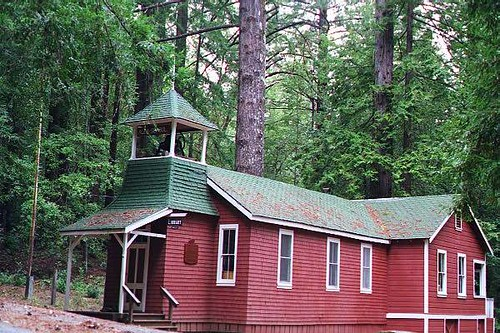Old School House Ben Lomond California We Used To Live