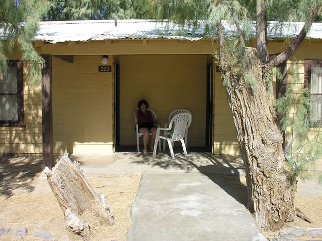 Furnace Creek Ranch Death Valley Judy Our Cabin Flickr