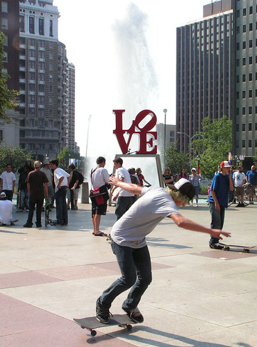 love park- free for a day (almost) | by frameshift