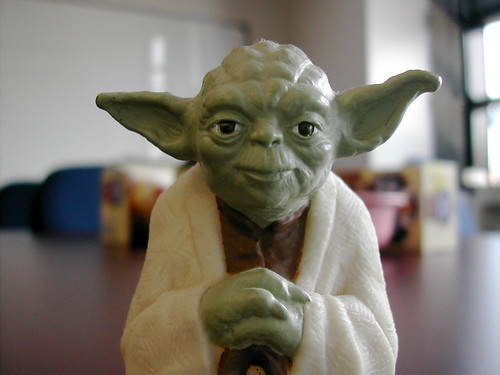 Yoda Figurine | by fuzzcat