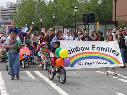 Rainbow Families, Gay Pride Parade, Seattle, WA | by djwudi