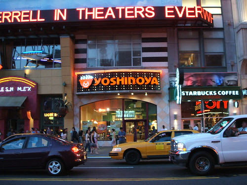 ... Yoshinoya @ New York Times Square | 200V See where this … | Flickr