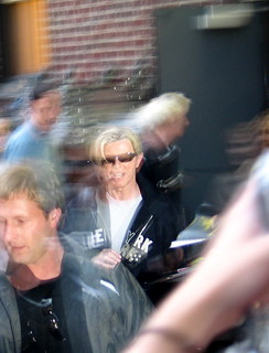 David Bowie Exits the Ed Sullivan Theater | by Terry Bain