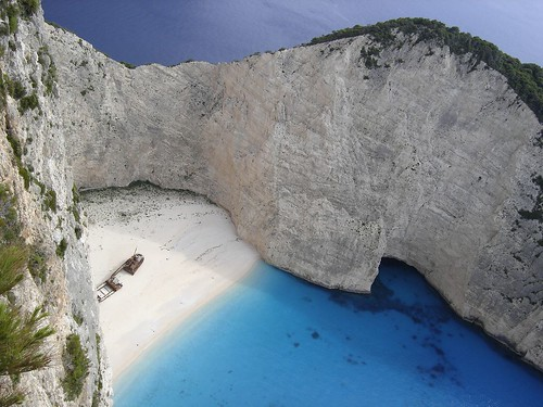 Navagio, Zakynthos, Greece | by RobW_