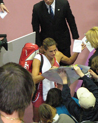 amelie signing autographs | by nardac