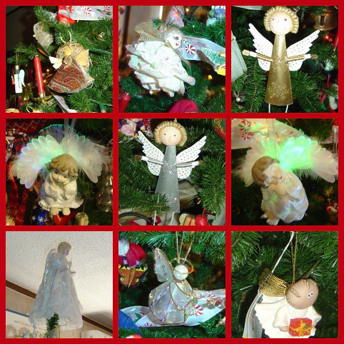 Angels have a special meaning at Christmas - from my 2006 tree | by martian cat