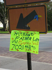 Bitchiest Garage Sale Sign EVER | by Lady Attercop