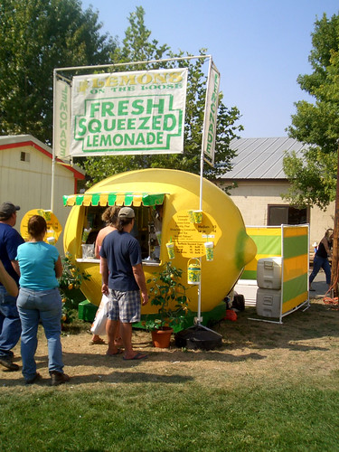 lemon lemonade stand it 39 s a lemonade stand shaped like a