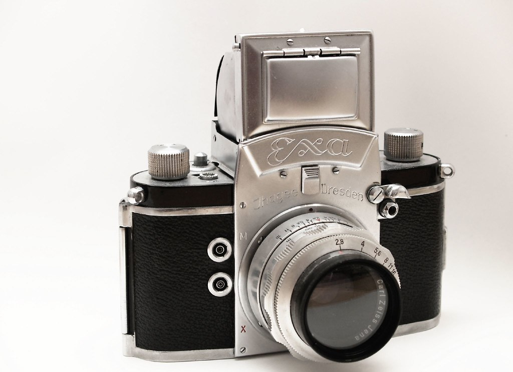 Zeiss Vr One >> Exa Ihagee Dresden   This is one of my oldest vintage camera…   Flickr