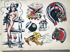 untitled 1 vintage tattoo flash flickr. Black Bedroom Furniture Sets. Home Design Ideas