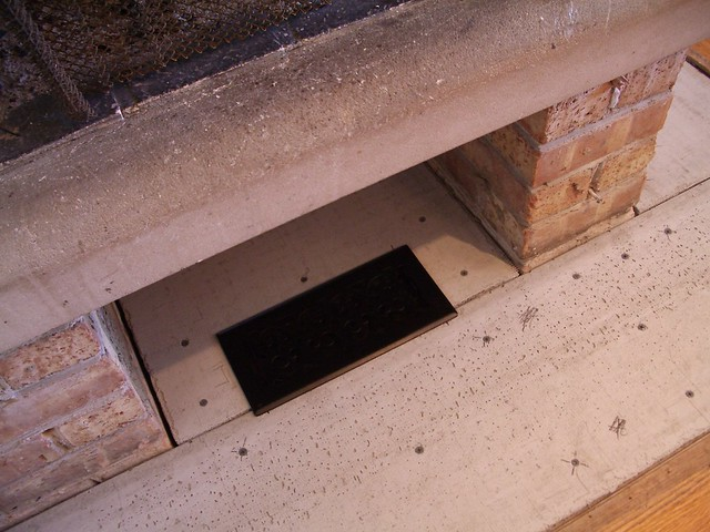 Fireplace Air Vent