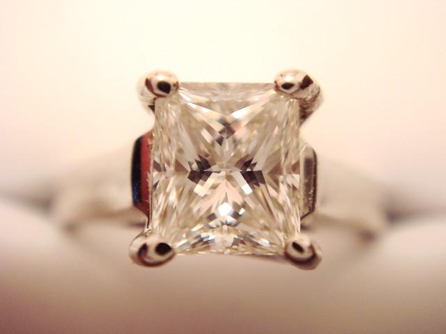 Princess Cut Engagement Ring Australia