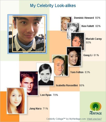 THOMPSON FAMILY: Celebrity look-alikes