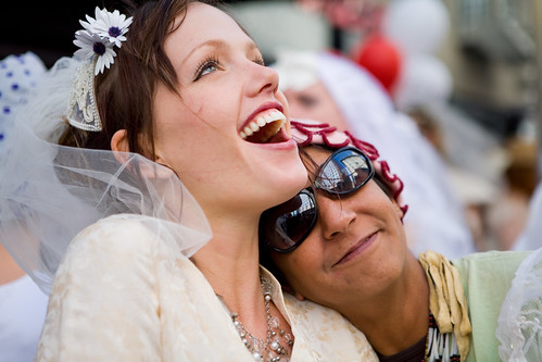 The happy brides | by Mitch Aidelbaum Photography