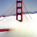 "San Francisco - Golden Gate Bridge ""Enveloping Fog"""