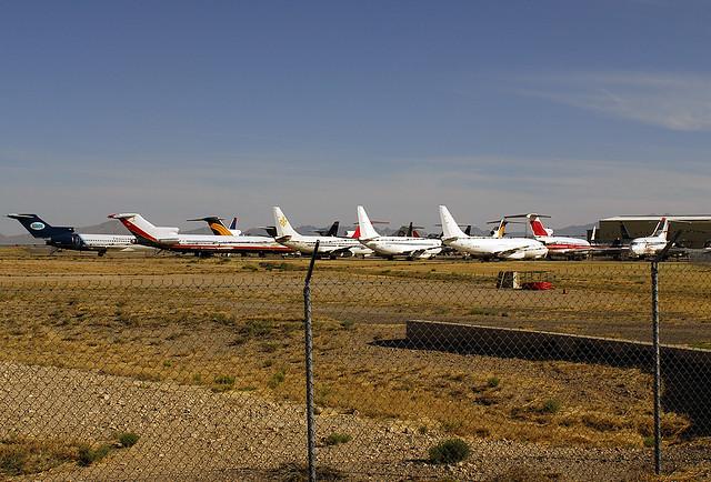 AIRCRAFT SALVAGE YARD | Commercial aircraft salvage facility