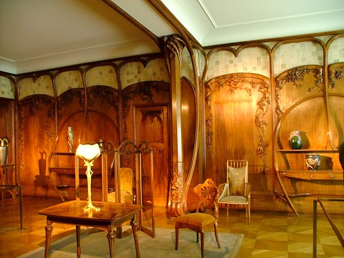 Art nouveau room at the D'Orsay | That's panelling I could l… | Flickr