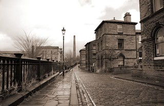 The old streets of Saltaire Village | by Paul Stevenson