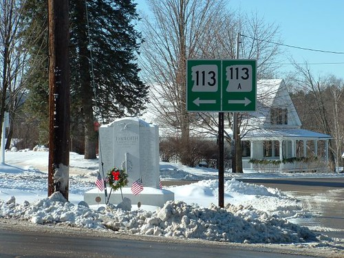 From north and east on Rte 113 | by tamworthlibrary