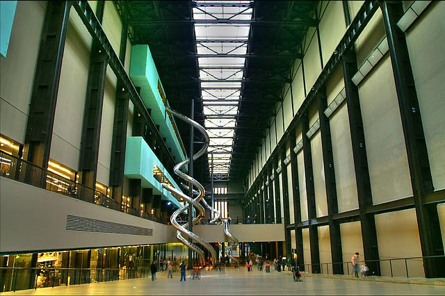 Tate Modern London The Old Turbine Hall At The Tate